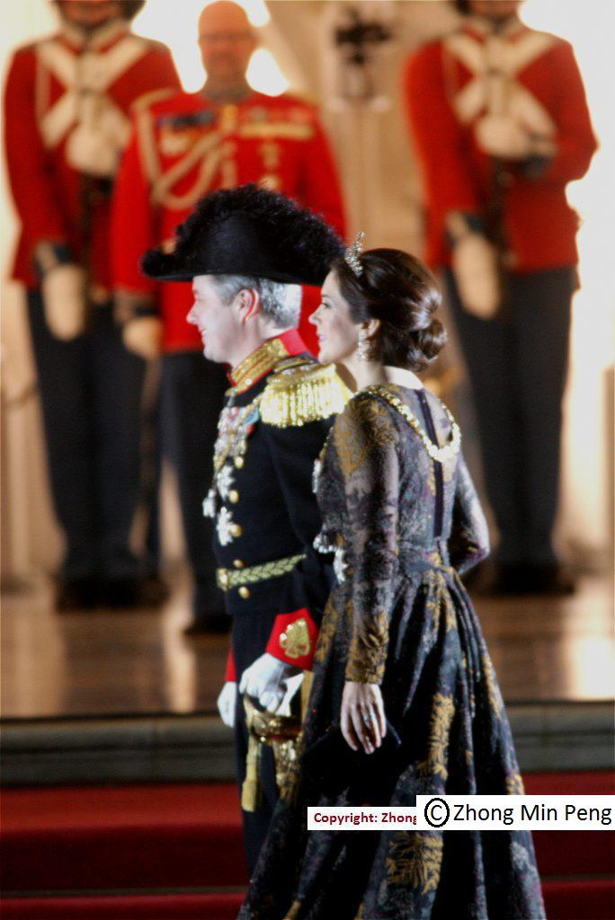 H.K.H. Kronprins Frederik & H.K.H. Kronprinsesse Mary