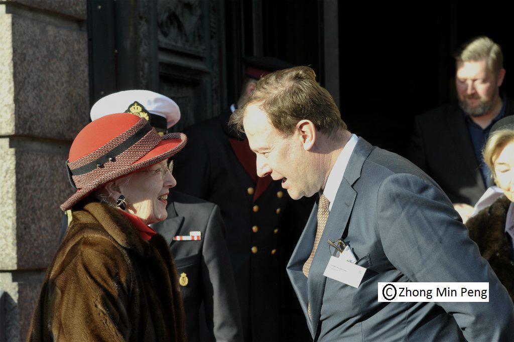 Godsejer og Dronning Margrethe
