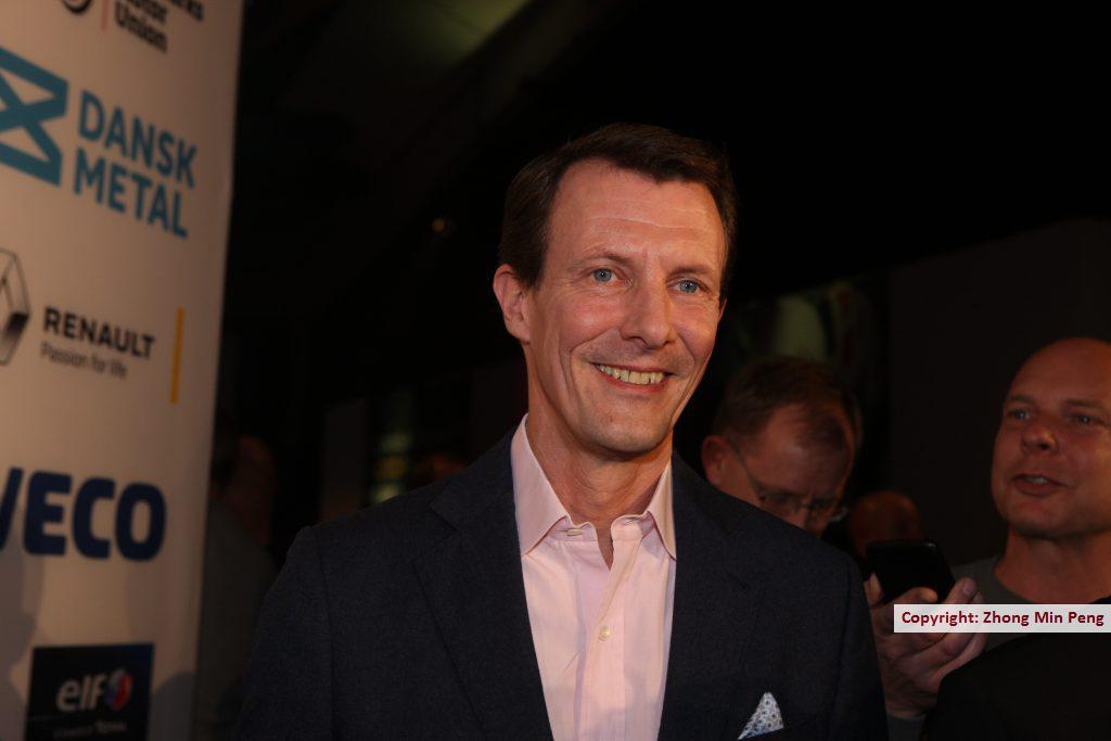 En meget glad H.K.H. Prins Joachim