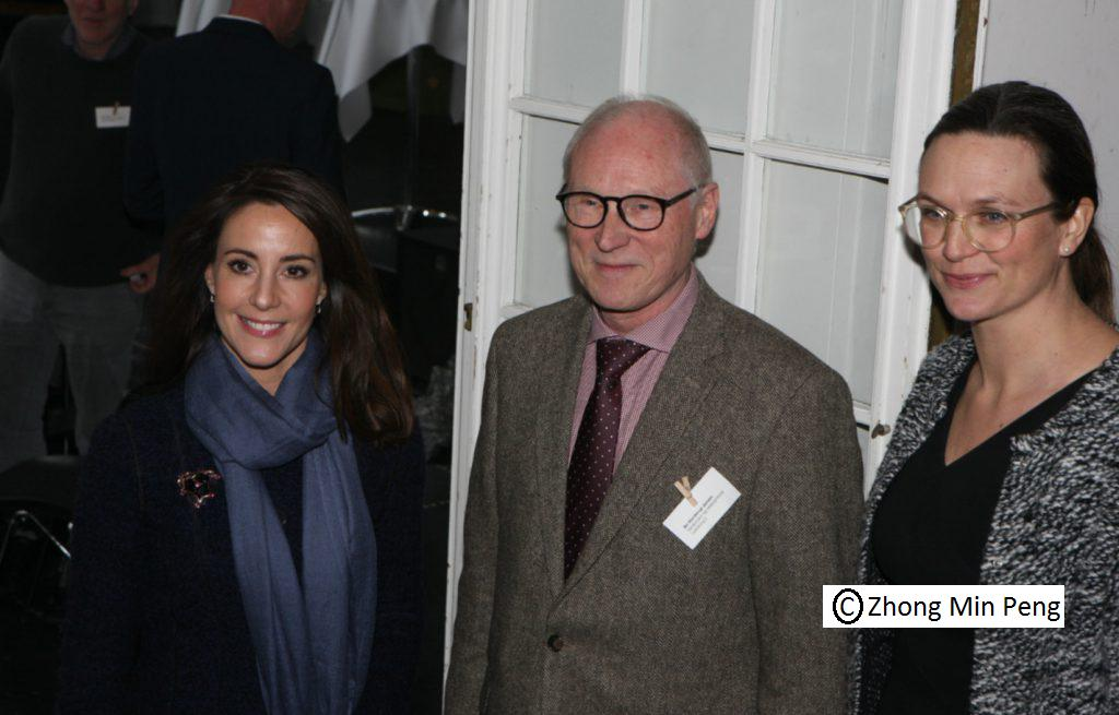 Prinsesse Marie med ambassadoer og undervisningsminister