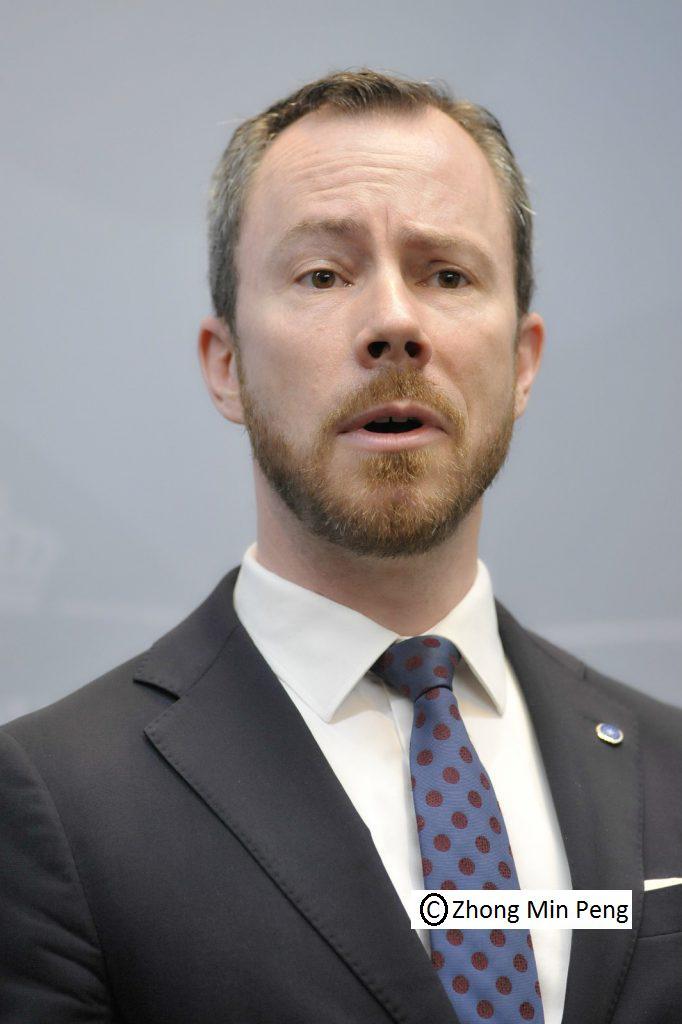 Jakob Ellemann Jensen udtrykker
