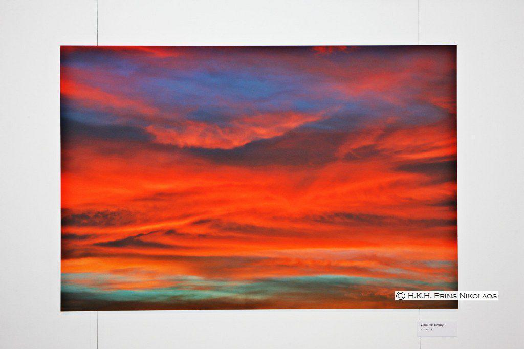 billedet indeholder en solnedgang