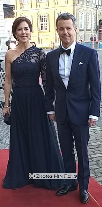 Kronprinsessen af Danmark og Hans Kongelige Hoejhed Kronprinsen
