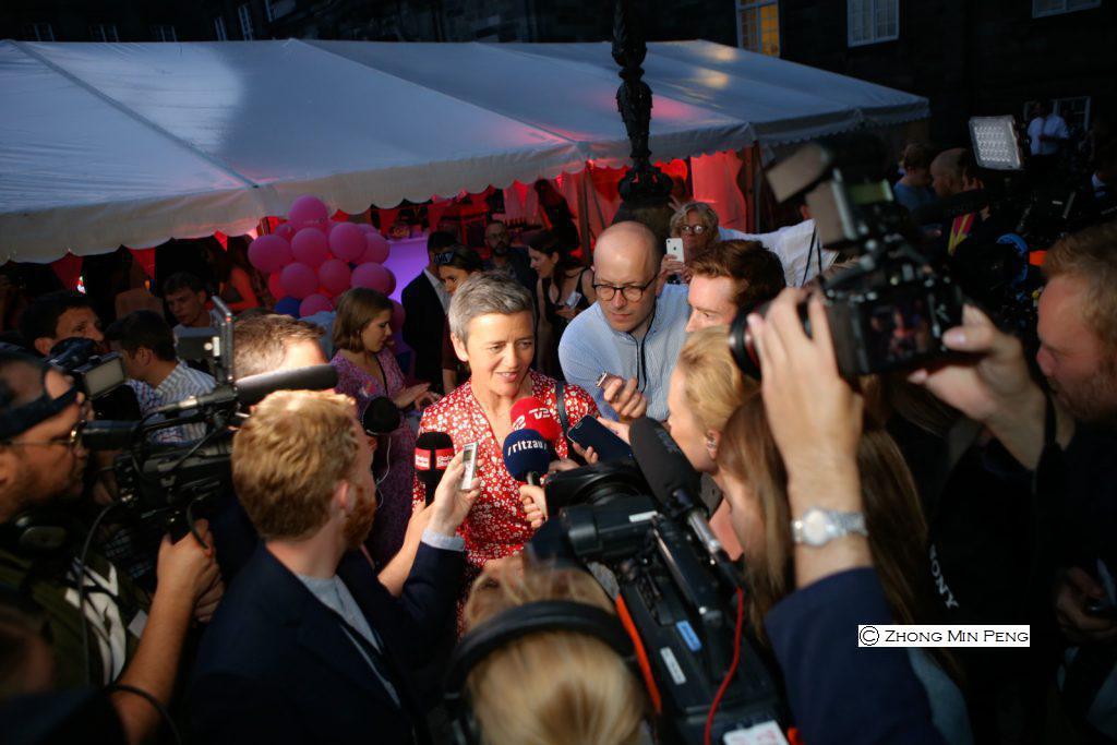 Margrethe Vestager EUs konkurrencekommissaer