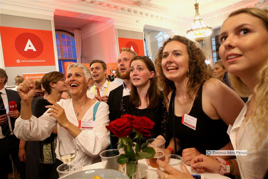 Social-demokratiske stoettere i Danmark 5 Juni 2019