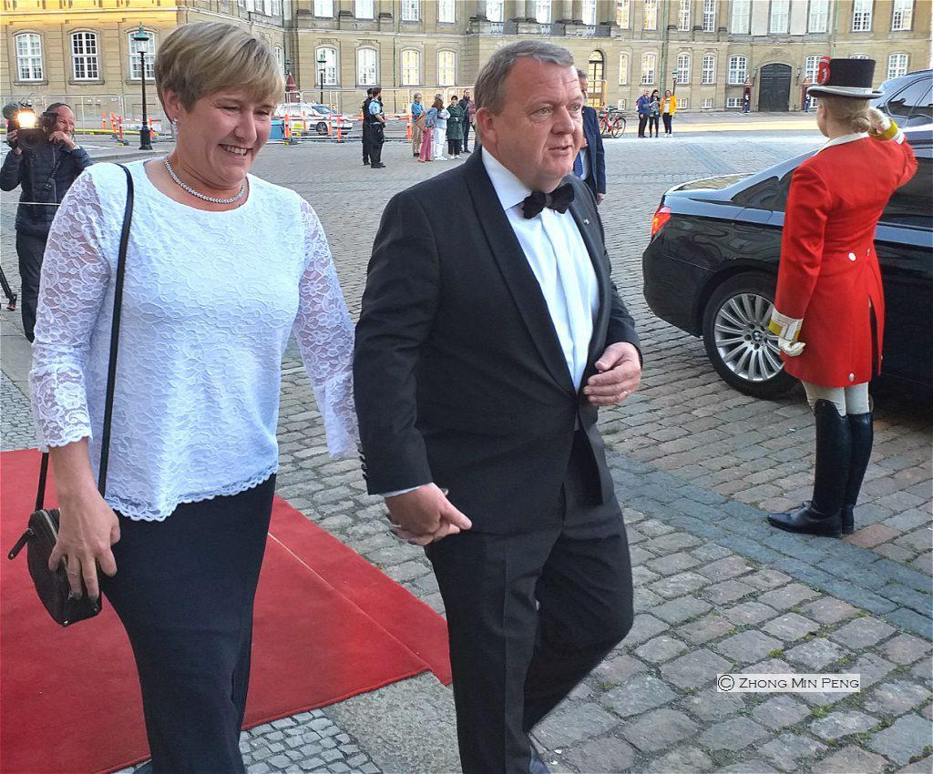 Statsministerfrue og Statsminister Lars Loekke Rasmussen