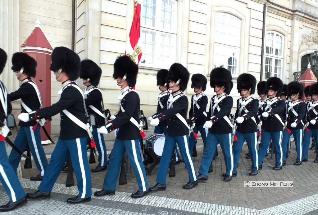 Vagter ved slot