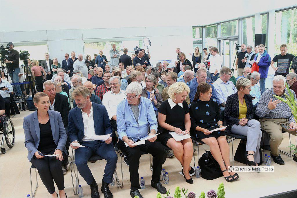 Publikum inkl Godhavsdrengene og Statsminister