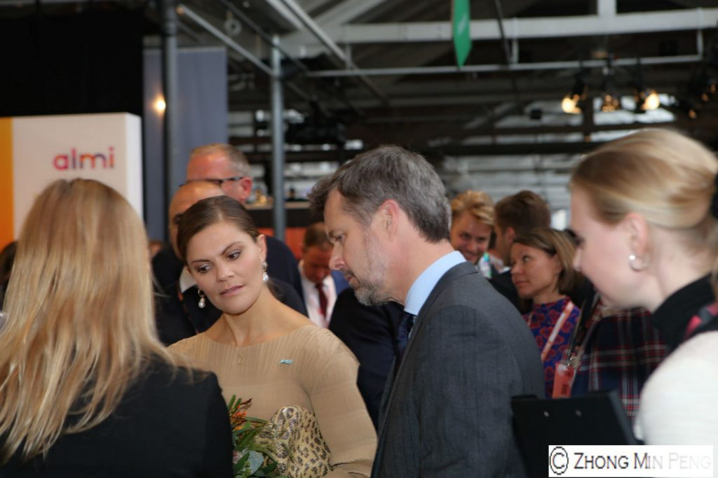 Crownprinsess Victoria of Sweden and Crownprince of Denmark