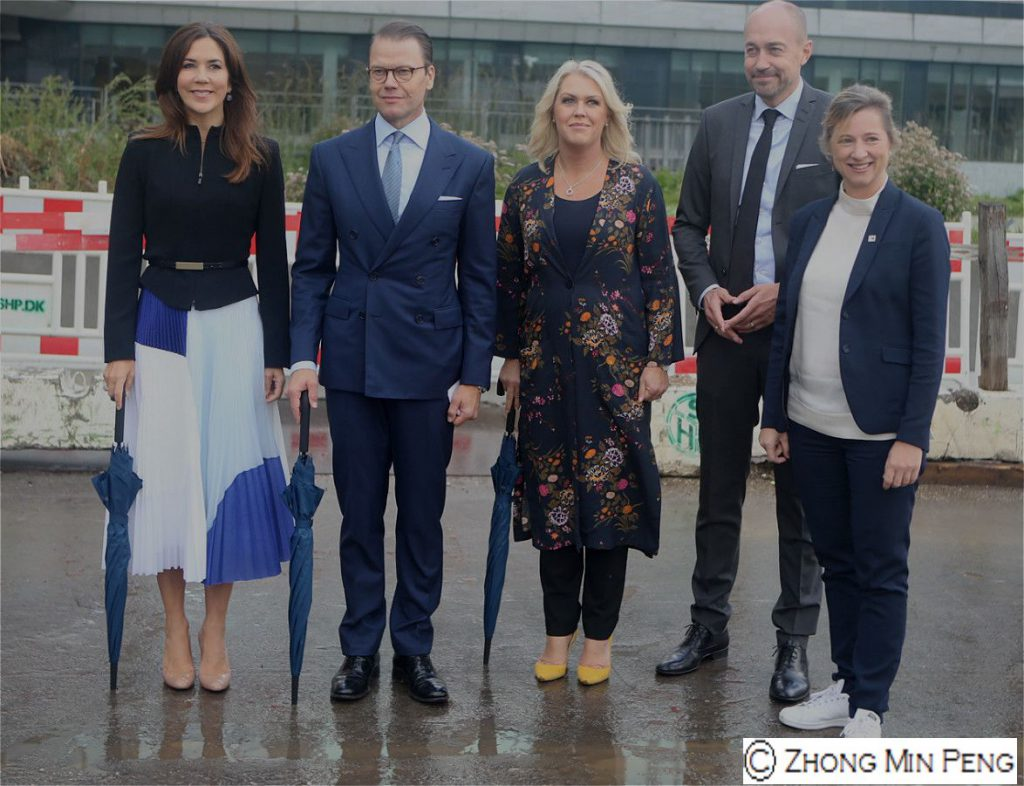 Their Royal Highnesses Crownprincess Mary og Prince Daniel