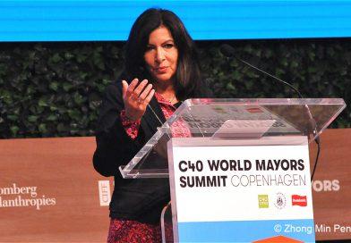1 Anne Hidalgo Mayor of Paris, C40 Chair