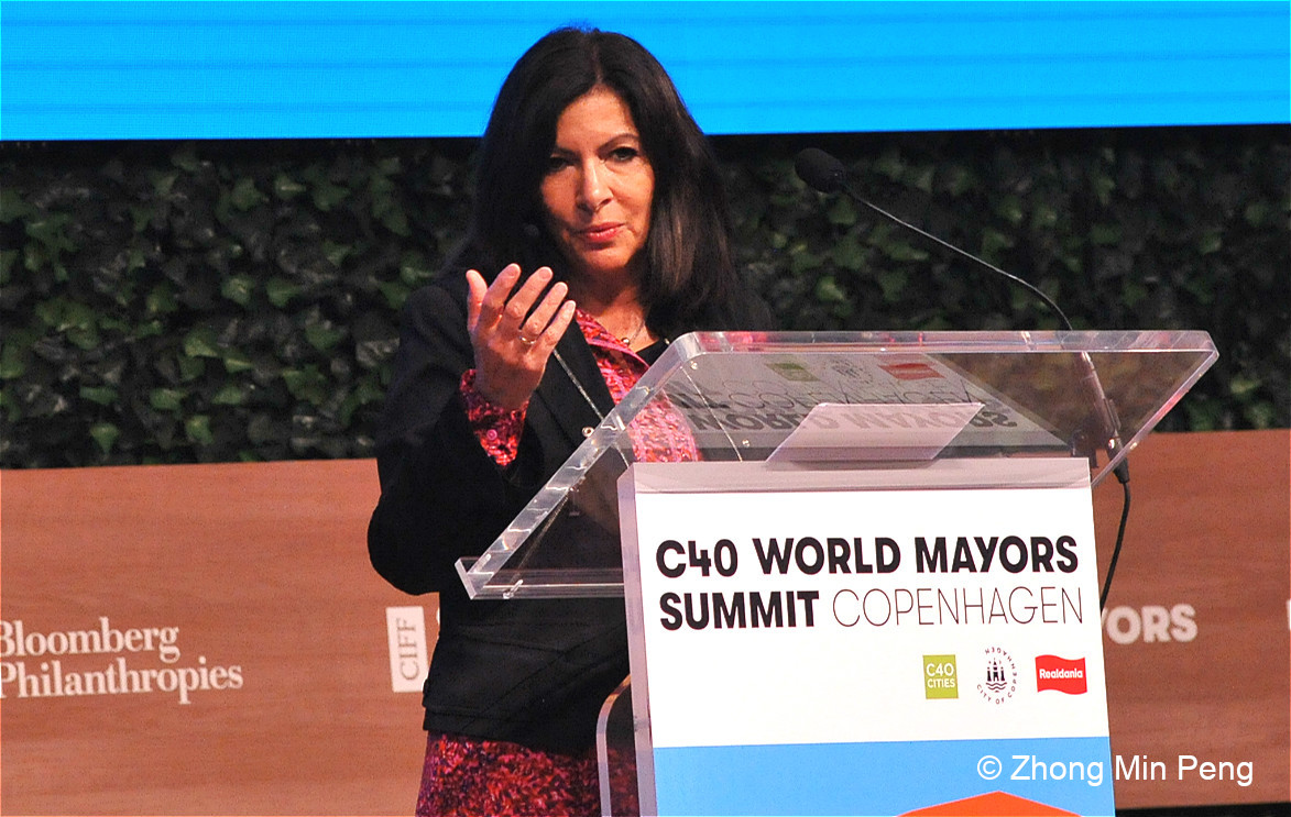 1 Anne Hidalgo Mayor of Paris, C40 Chair