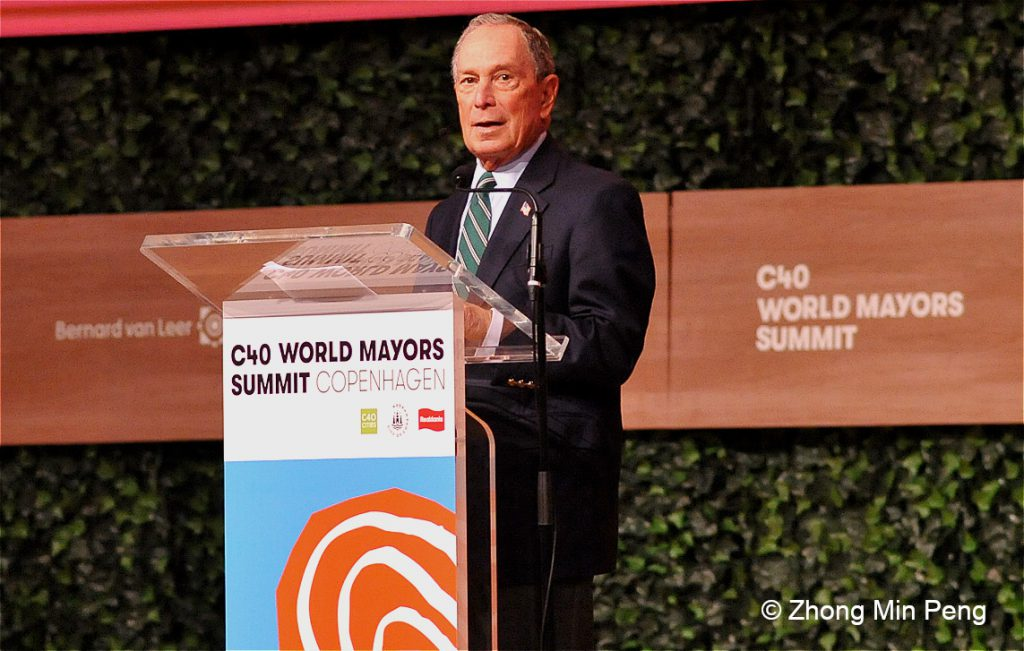 10 Michael R. Bloomberg 108th Mayor of New York City. C40 Board President, UN Secretary Generals Special Envoy for Climate Action