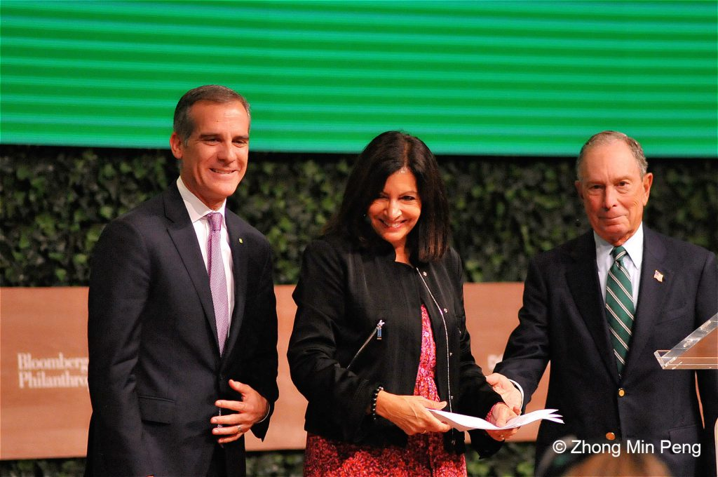 12 Mayor Eric Garcetti Chair of the C40 Cities Climate Leadership