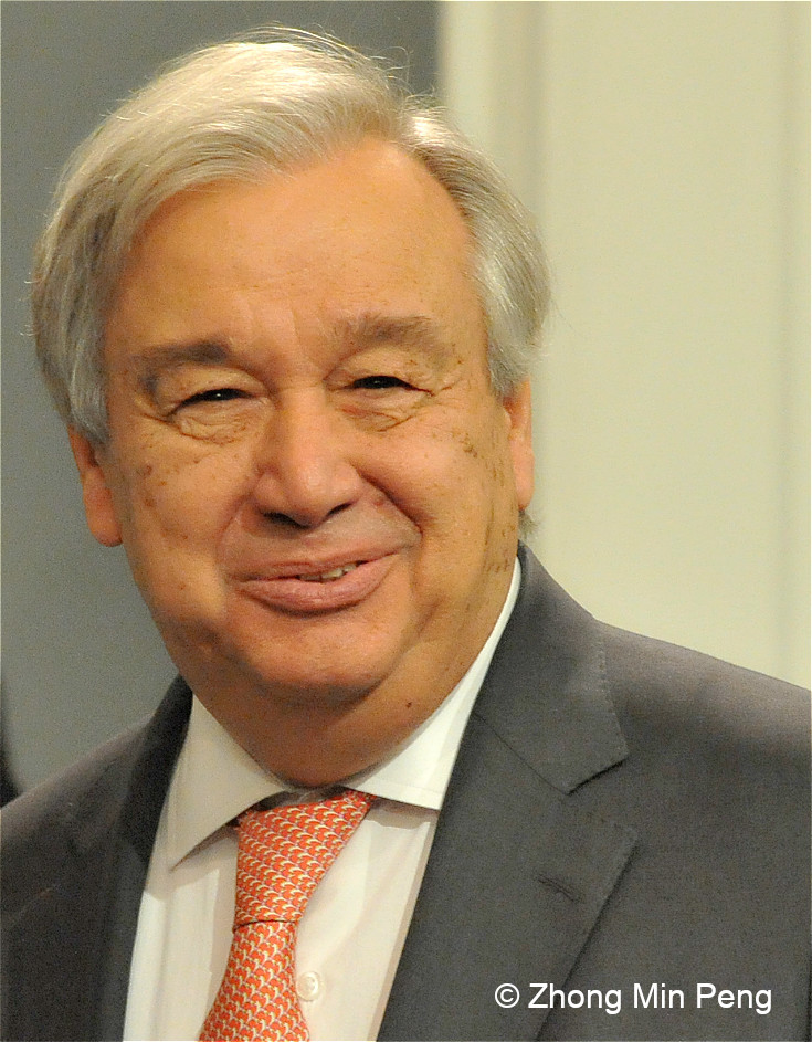 5 Antonio Guterres Secretary General of the United Nations
