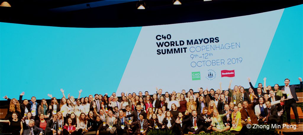 Participation at event at 2019 C40 World Mayors Summit