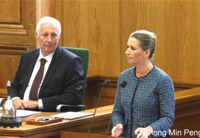 Statsminister holder aabningstale