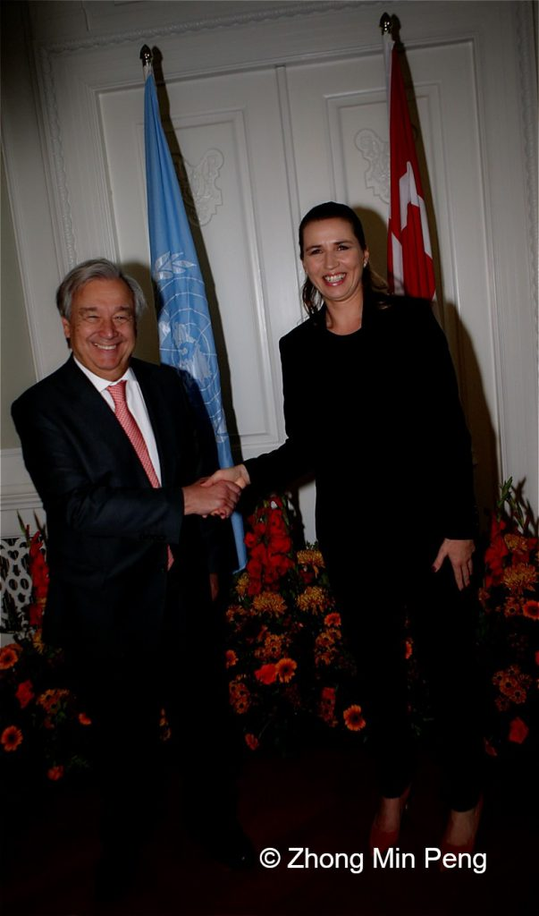 UN Secretary General on official visit in Denmark