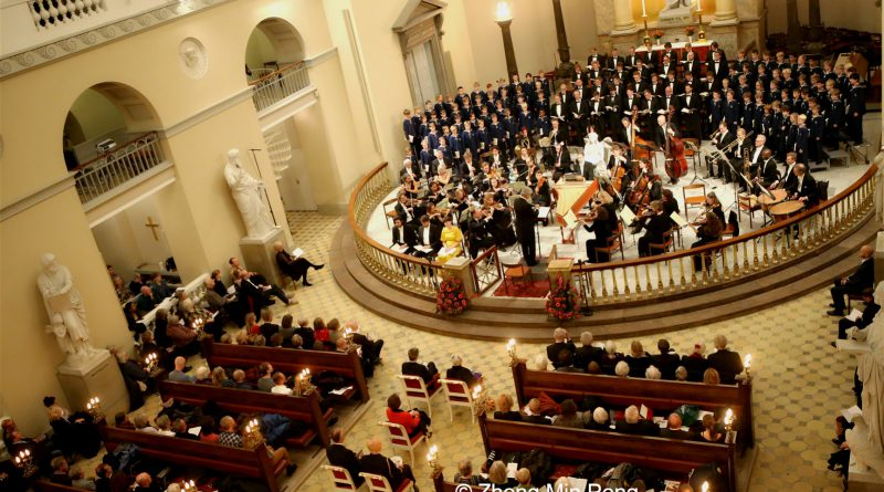 Copenhagen Boys Choir holds circa 80 boys