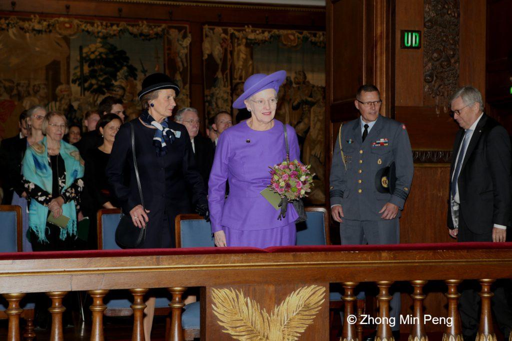 Dronningen var til stede ved Koebenhavns Universitets aarsfest 2019