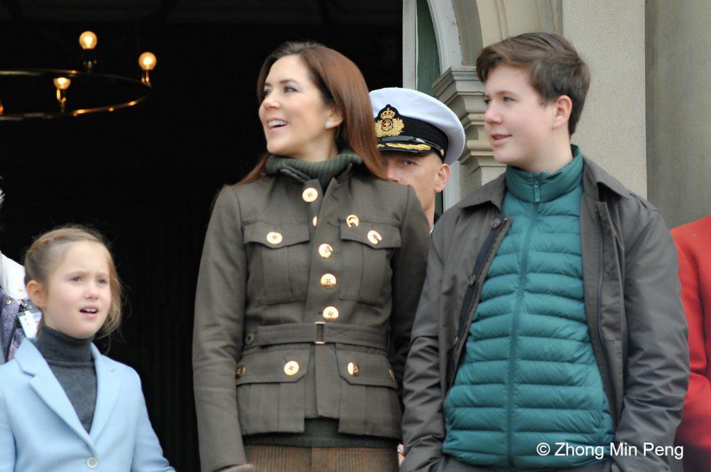 Kronprinsesse Mary, Prins Christian og Prinsesse Josephine var til stede ved Hubertusjagt