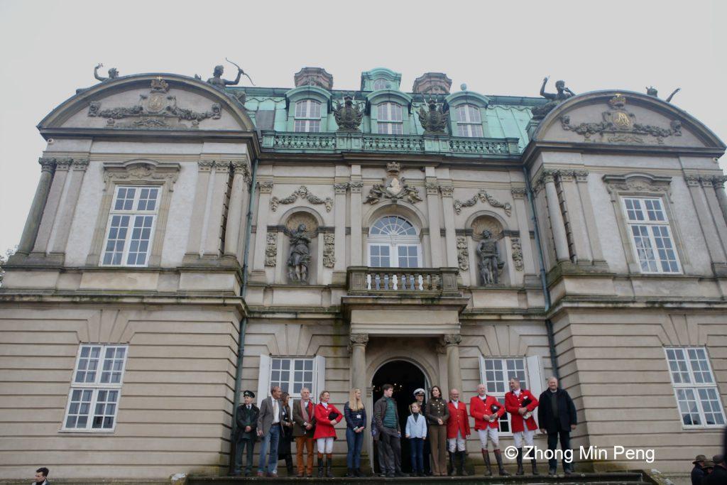 Overraekkelsen af Kronprinsesse Marys aerespraemie i forbindelse med Hubertusjagten 2019
