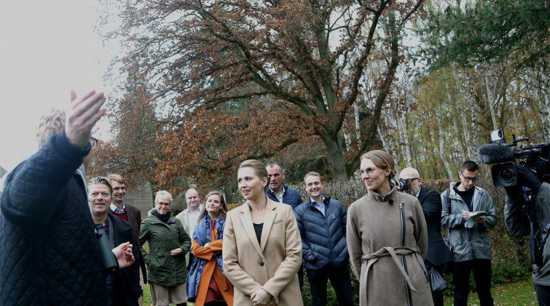 Sebastian Klein viste deltagerne det dyre og planteliv, der er i Marienborgs have
