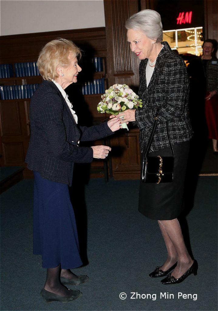 Foreningens praesidie har modtaget Prinsesse Benedikte