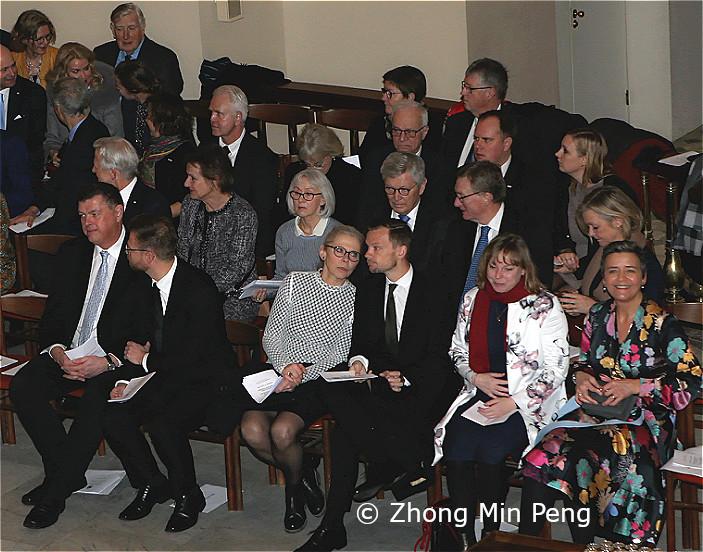 Margrethe Vestager Europa-Kommission og flere ministre var til stede
