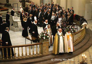 Festgudstjeneste i anledning af 100-aaret for Genforeningen. Kobenhavns Domkirke