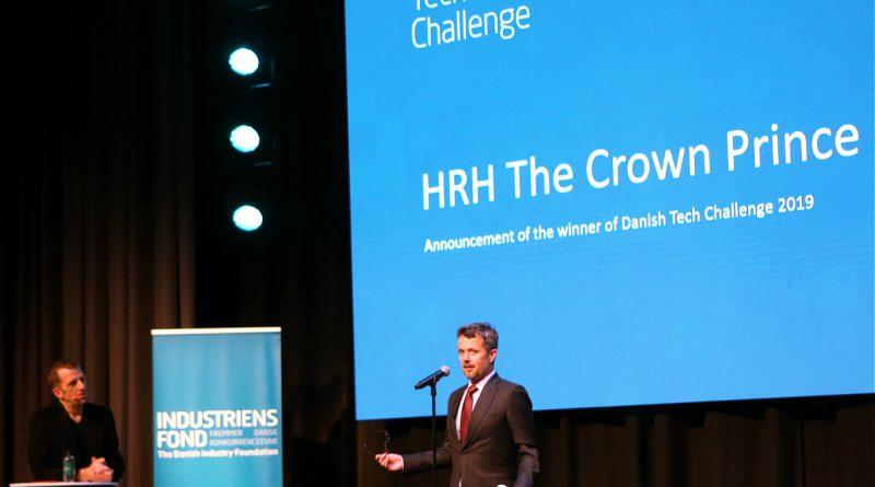 I forbindelse med prisuddelingen holdt Hans Kongelige Hoejhed en tale