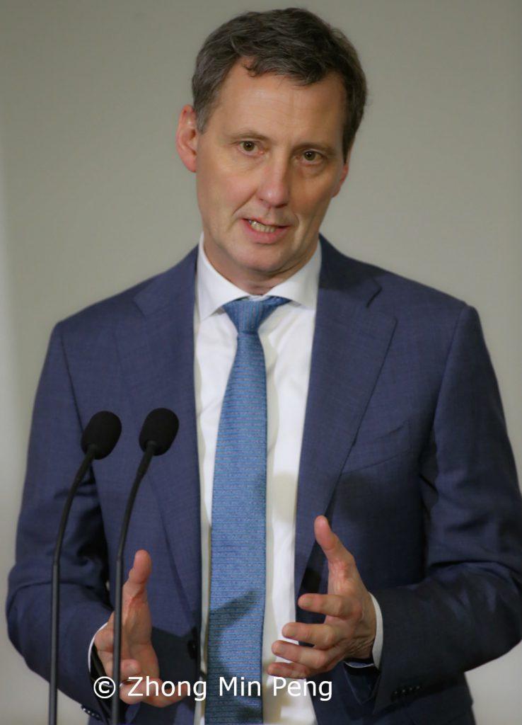 Justitsminister af Danmark Nick Haekkerup