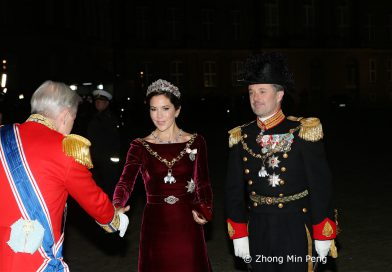 Livgarde og Kronprinsesse Mary og Kronprins Frederik