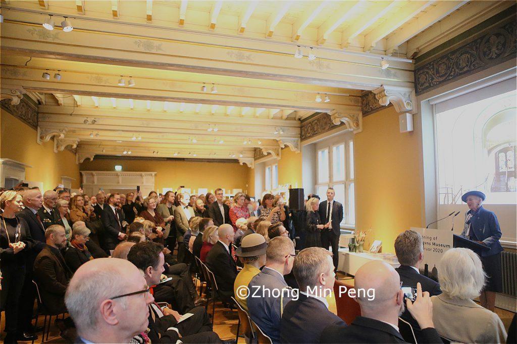Tale af Dronningen af Danmark til det nye aabnede Kobenhavns Museum