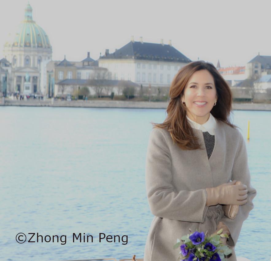 Kronprinsesse Mary af Danmark ved Operaen