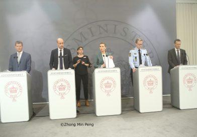 Pressemoede om COVID-19 i Statsminister af Danmark