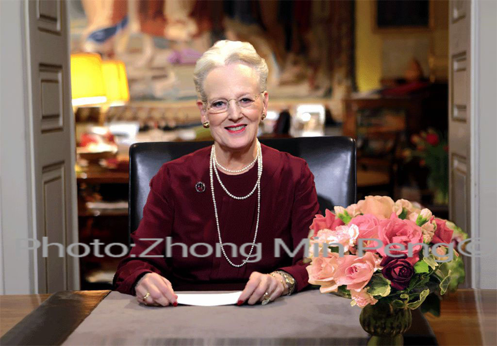 H M Dronning Margrethe II af Danmark
