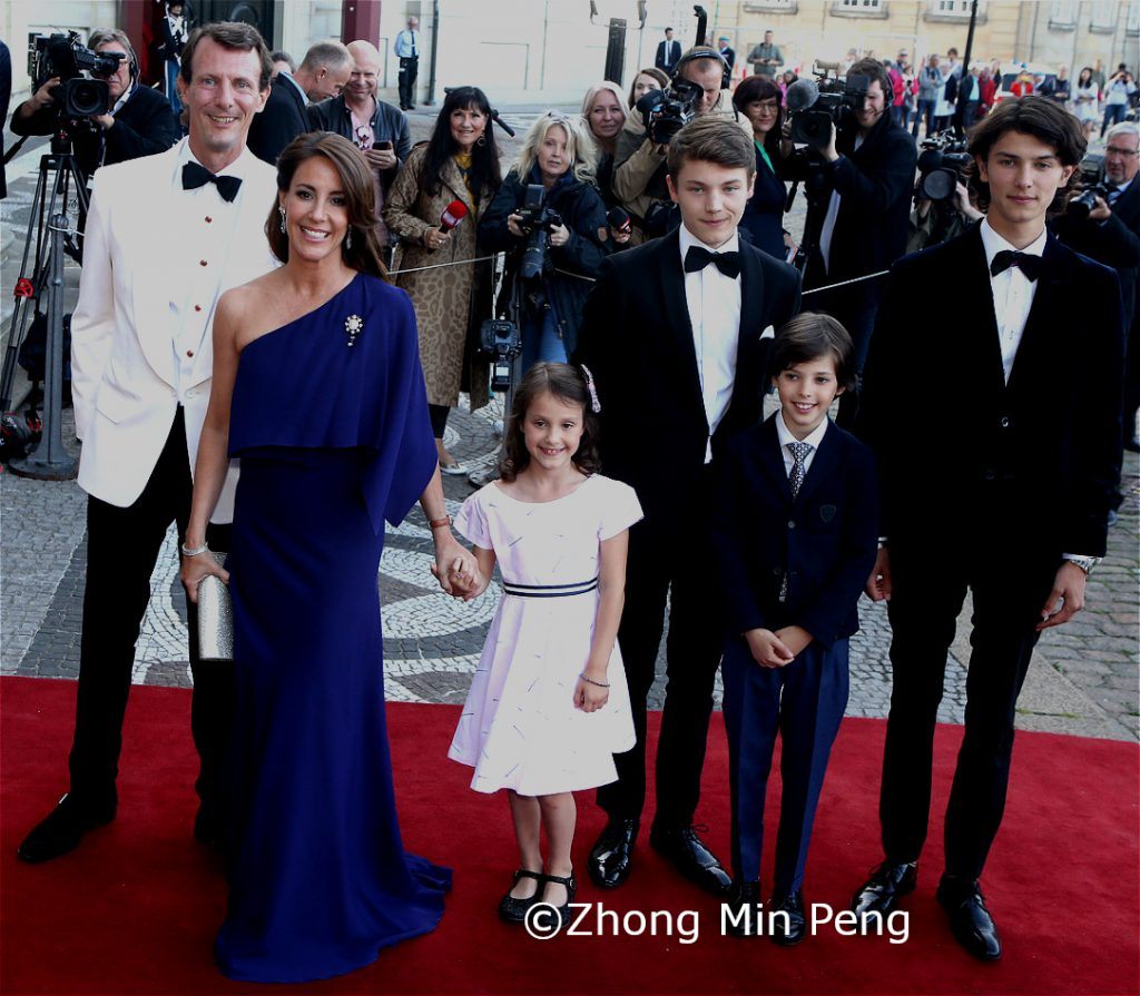 Prins Joachim Prinsesse Marie Prinsesse Athena Prins Felix Prins Henrik Prins Nikolai