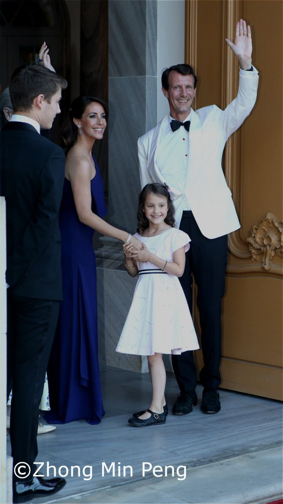 Prinsesse Marie Prinsesse Athena og Prins Joachim