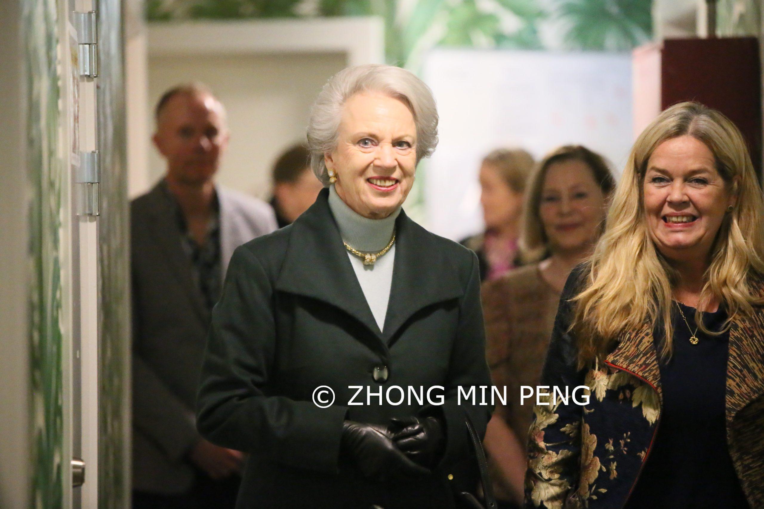 Et besøg med Prinsesse Benedikte hos Hellebro