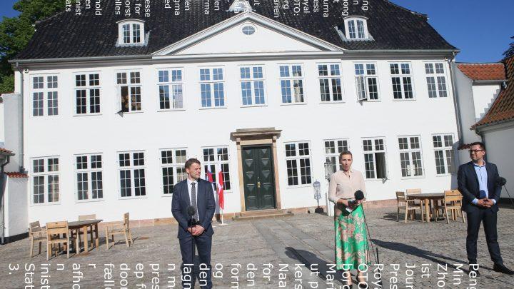 Rigsmøde på Marienborg