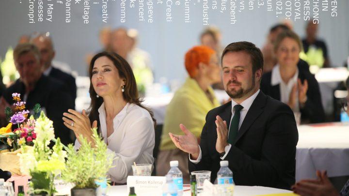 """Kronprinsessen deltager i """"Creative Summit"""""""