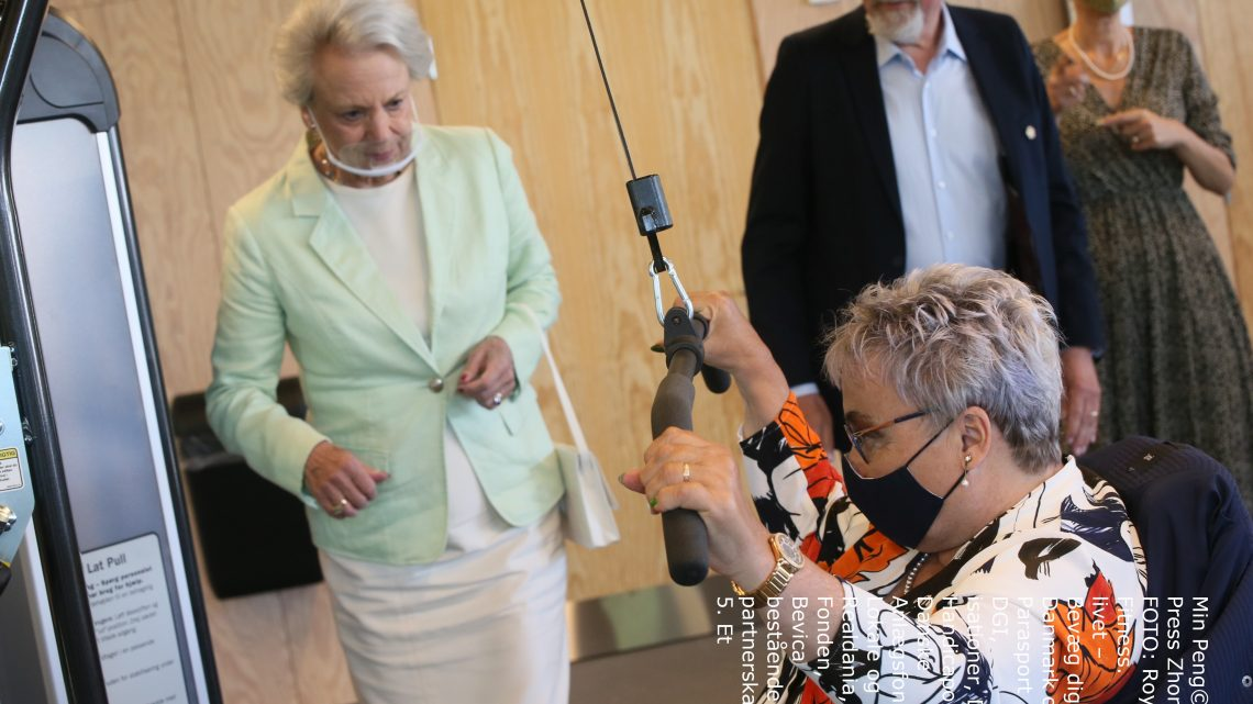Prinsesse Benedikte åbner nyt fitnesscenter