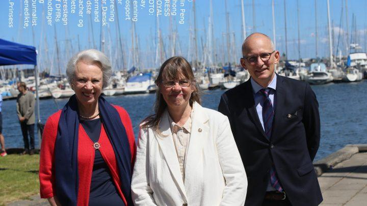 Prinsesse Benedikte navngiver kaproningsbåd i DSR
