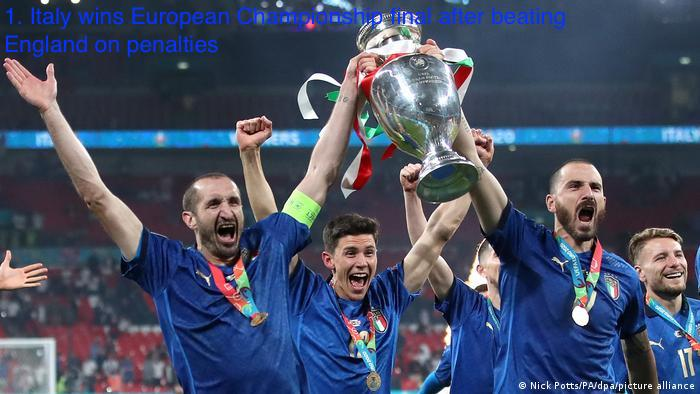 Italy Wins European Championship Final