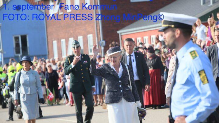 Dronningen besøgte Fanø Kommune