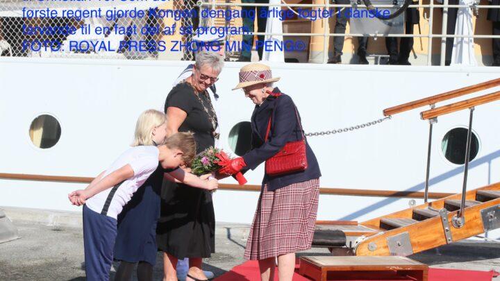 Dronningen af Danmark sommertogt 2021 Thisted Kommune